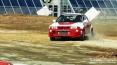 4x4 Fest 2009 - Carrara (MS), 10-11 ottobre 2009 - Mitsubishi Lancer in accelerazione