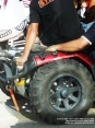 4x4 Fest 2009 - Carrara (MS), 10-11 ottobre 2009 - Particolare di una ruota di un quad utilizzato in esibizione