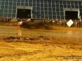 4x4 Fest 2009 - Carrara (MS), 10-11 ottobre 2009 - Potente accelerazione di un Nissan Patrol sulla terra della pista dimostrativa