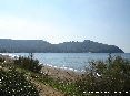 Baratti, Piombino (LI) - Lato della spiaggia del golfo verso il promontorio di Populonia