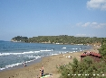 Baratti, Piombino (LI) - Lato della spiaggia del golfo verso il Pozzino e la Villa del Barone
