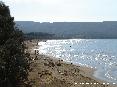 Baratti, Piombino (LI) - La spiaggia del golfo di Baratti brilla per i minerali di ferro mescolati alla sabbia