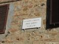 Bolgheri (LI) - Lapide commemorativa per il poeta Carducci