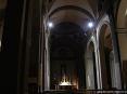 Buti (PI) - Foto della navata centrale del Duomo di San Giovanni Battista verso l