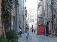 Caldana (GR) - La maggior parte dei vicoli e le viuzze del piccolo paesesono sono latricati e le case si affacciano sulle strade con antiche mura con pietra a vista