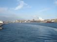 Canale di Piombino (LI) - La parte commerciale industriale del porto verso i moli Lucchini