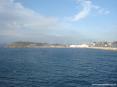 Canale di Piombino (LI) - Il tratto di mare subito fuori dal molo del porto
