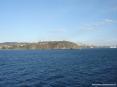 Canale di Piombino (LI) - Il promontorio del quartire Tolla con lo sfondo del porto