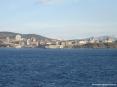Canale di Piombino (LI) - La costa del centro storico della città e del porticciolo di Marina