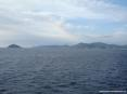 Canale di Piombino (LI) - Isola di Palmaiola e dietro la costa dell