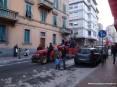 Carnevale Piombino 2009 - Una carrozza apre il corteo mascherato del carnevale piombinese 2009