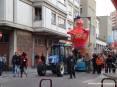 Carnevale Piombino 2009 - Il carro di Cicciolo 2009. Cicciolo nella tradizione piombinese è il carro allegorico che rappresenta Re Carnevale