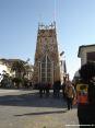 Carnevale di Viareggio (LU) 2008 - il carro terzo classificato In nome di chi... ha una altissima torre.