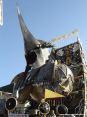 Carnevale di Viareggio (LU) 2008 - I carri sono davvero imponenti. Questo Signore del male si staglia sopra di noi maestoso (Carro: In nome di chi...)