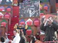 Carnevale di Viareggio (LU) 2008 - Un particolare dei figuranti nel carro: La Compagnia del Carnevale di Lebigre-Roger Uère iz ze Party?E