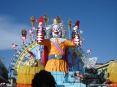 Carnevale di Viareggio (LU) 2008 - Il carro di Gionata Francesconi - Autoritratto raffiugura in versione gigante la mascotte del carnevale di Viareggio: il Burlamacco.
