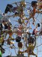 Carnevale di Viareggio (LU) 2008 - Tanti politici raffigurati come scimmiette nel carro di Jacopo Allegrucci - Marameo!!!