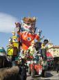Carnevale di Viareggio (LU) 2008 - Il carro di seconda categoria di Luciano Tomei - Chi ha rapito l