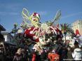 Carnevale di Viareggio (LU) 2008 - Spledida realizzazione di un carro completamente ricoperto di fiori.