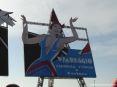 Carnevale di Viareggio (LU) 2008 - Un grande cartellone: Viareggio carnevale d