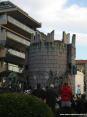 Carnevale di Viareggio 2008 - La torre del castello del carro primo classificato in prima categoria, il vincitore del carnevale 2008. Franco Malfatti - Sortilegio