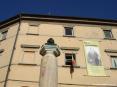 Castagneto Carducci (LI) - Il busto di Giosuè Carducci offerto dal popolo di Castagneto