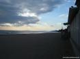 Castiglione della Pescaia (GR) - La grande spiaggia di sabbia davanti al paese, lato nord