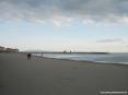 Castiglione della Pescaia (GR) - La spiaggia del paese, lato sud, verso il porticciolo