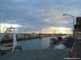 Castiglione della Pescaia (GR) - Tramonto sul porto costruito nella foce del fiume Bruna e i suoi pescherecci