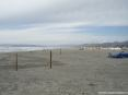 Forte dei Marmi (LU) - Foto della grande spiaggia del Forte, verso il lato nord.