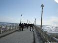 Forte dei Marmi (LU) - Foto scattata dalla passeggiata del pontile verso il mare.