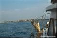 Isola di Pianosa (LI) - Navigazione in avvicinamento al porto di Pianosa. Straordinaria la piattezza dell