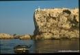 Isola di Pianosa (LI) - Una scogliera verticale sul mare nasconde l
