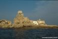 Isola di Pianosa (LI) - Lo scoglio della Scola è la scultura naturale più caratteristica dell