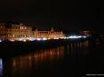 Luminara San Ranieri 2008 Pisa (PI) - Lungarno Sidney Sonnino con migliaia di candeline accese ad illuminare il profilo degli antichi edifici pisani