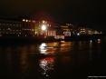 Luminara San Ranieri 2008 Pisa (PI) - La Chiesetta della Spina e le barche in processione sull