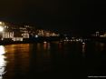Luminara San Ranieri 2008 Pisa (PI) - Decine di imbarcazioni risalgono il fiume Arno in processione suonando le trombe in segno di festa e di augurio
