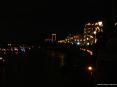 Luminara San Ranieri 2008 Pisa (PI) - Sulla destra il Lungarno Pacinotti e sulla sinistra le barche in processione sull
