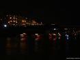 Luminara San Ranieri 2008 Pisa (PI) - La processione di barche in onore del santo patrono � un contrasto di luci colorate ed ombre sul fiume Arno