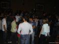 Luminara San Ranieri 2008 Pisa (PI) - I Lungarni si trasformano in una enorme festa sotto le stelle. Nella foto un trenino parte spontaneamente al ritmo di un