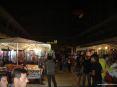 Luminara San Ranieri 2008 Pisa (PI) - La piazzetta in Borgo Stretto con le bancarelle