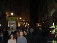 Luminara San Ranieri 2008 Pisa (PI) - La notte affollata e festante in Borgo Stretto all