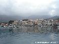 Marciana Marina (LI) - Dal molo si ha una ottima vista del paese con i suoi caratteristici edifici