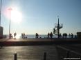 Marina di Cecina (Cecina Mare) (LI) - Una curiosa struttura costituisce una sorta di torre di vedetta sul mare