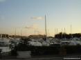 Marina di Cecina (Cecina Mare) (LI) - Il porticciolo è un porto canale costruito sulla foce del fiume Cecina