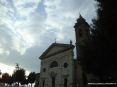 Montalcino (SI) - La chiesa della Madonna del Soccorso al limite del paese e delle sua mura. La chiesa è stata costruita nell
