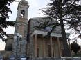 Montalcino (SI) - Prospetto del Duomo di Montalcino, la cattedrale di San Salvatore. La Concattedrale di San Salvatore è il Duomo di Montalcino.  La costruzione è stata avviata intorno all