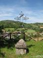 Monterchi (AR) - Dal paese si gode di uno splendido panorama verso la verde campagna toscana.