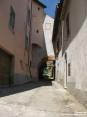 Monterchi (AR) - Alcune strade fra le case sono davvero particolari.