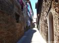 Monticiano (SI) - Fra i vicoli del paese si respira una atmosfera antica e piacevole - Fotografia Novembre 2009